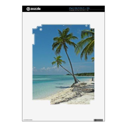 Piel tropical del iPad de la playa iPad 2 Skin