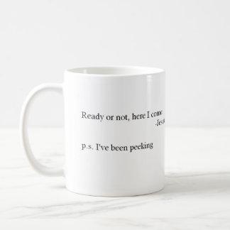 Piel y búsqueda taza