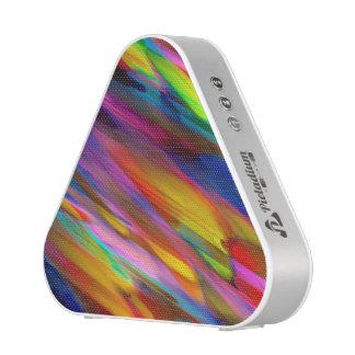 Pieladium Speaker Colorful digital art splashing