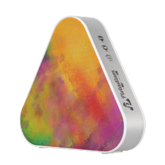 Pieladium Speaker featuring an abstract Painting
