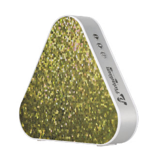 Pieladium Speaker Gold Mosaic Sparkley Texture