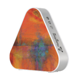 Pieladium Speaker with Colorful Abstract Painting