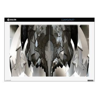 Pieles abstractas futuristas del arte del insecto  portátil skin