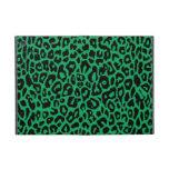 Pieles animales del leopardo del verde esmeralda iPad mini carcasa