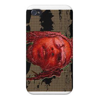 Pieles de la vaina de la mosca iPhone 4 cobertura