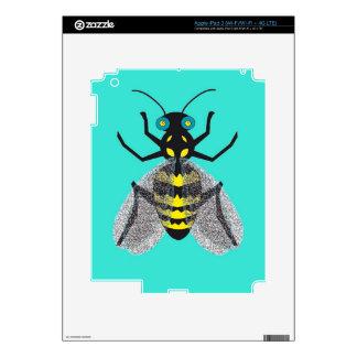 pieles del iPad 3 con la abeja colorida iPad 3 Pegatina Skin