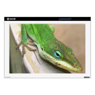 Pieles del ordenador portátil - lagarto verde portátil 43,2cm skins