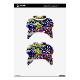Pieles del regulador de Xbox 360 con el Mando Xbox 360 Calcomanía