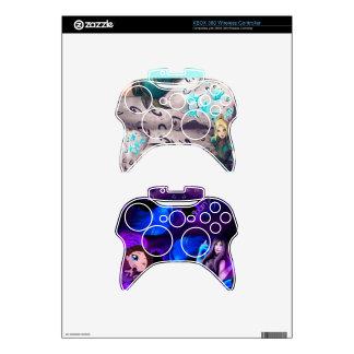 Pieles del regulador del vinilo Gigi y de Sharm Mando Xbox 360 Calcomanía