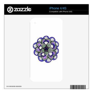 Pieles del teléfono celular skin para el iPhone 4S
