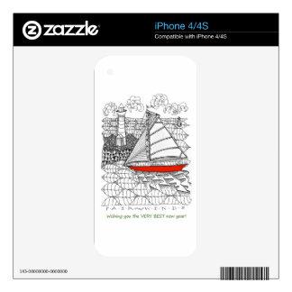 Pieles del teléfono celular iPhone 4S skin