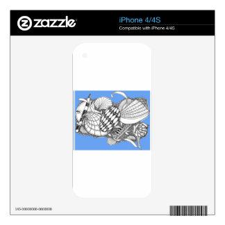 Pieles del teléfono celular skin para el iPhone 4