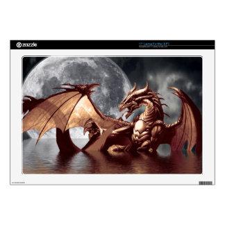 Pieles electrónicas de la fantasía del dragón y de 43,2cm portátil calcomanías