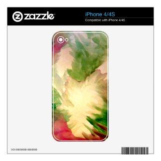 Pieles florales del iPhone de los regalos del día Skins Para eliPhone 4S