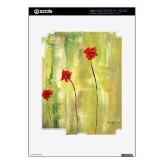 Pieles hermosas de Ipad. Floral y diseñador iPad 3 Skins