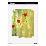 Pieles hermosas de Ipad. Floral y diseñador Pegatinas Skins Para iPad 3
