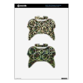 Pieles inalámbricas del regulador de Camoflage Mando Xbox 360 Calcomanía