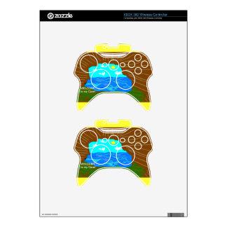 Pieles inalámbricas del regulador de XBOX 360 de l Mando Xbox 360 Skin
