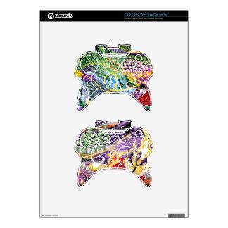 Pieles inalámbricas del regulador de XBOX 360 del Mando Xbox 360 Skin