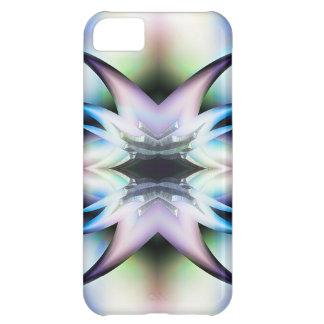 Pieles iridiscentes del diseño del fractal de las funda para iPhone 5C
