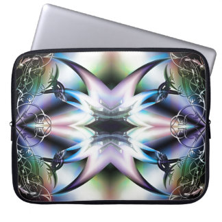 Pieles iridiscentes del diseño del fractal de las fundas ordendadores