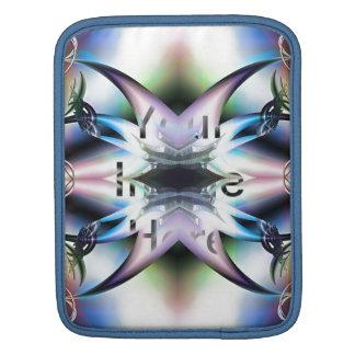 Pieles iridiscentes del diseño del fractal de las fundas para iPads