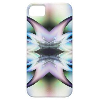 Pieles iridiscentes del diseño del fractal de las iPhone 5 fundas
