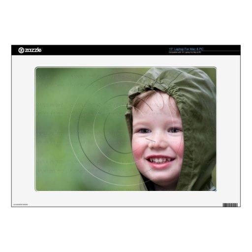 Pieles personalizadas de la foto para los calcomanía para portátil