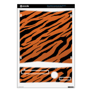 Pieles rayadas del vinilo XBOX360 del tigre Calcomanías Para Xbox 360 S
