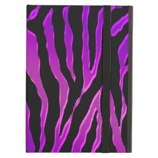 Pieles rosadas y púrpuras eléctricas de la cebra