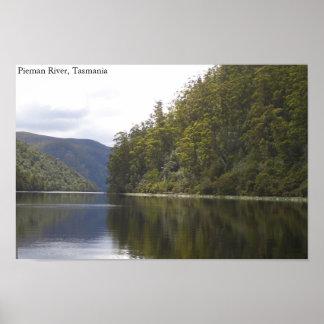 Pieman River, Tasmania (Australia) Poster