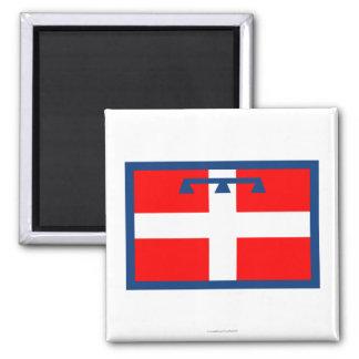 Piemonte flag magnet