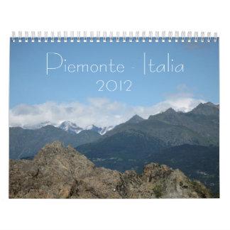 Piemonte-Italia 2012 Calendar