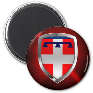 Piemonte Mettalic Emblem Magnet