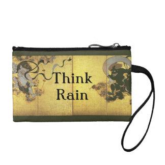 Piense a dioses japoneses de la lluvia de la lluvi