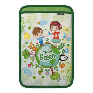 Piense a los niños verdes de Eco
