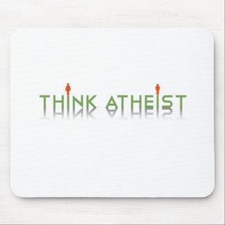 Piense al ateo tapetes de ratones