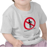 Piense antes de que usted hable   (A21) Camiseta