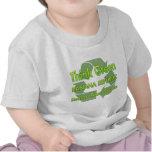 Piense Banana Republic verde Camiseta