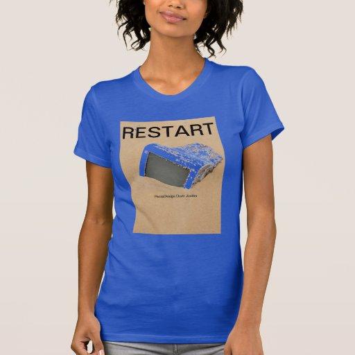Piense creativo camisetas