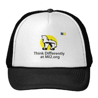 Piense diferentemente - el caballo en el regalo de gorra