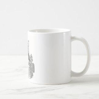 Piense el bosquejo del lápiz tazas de café