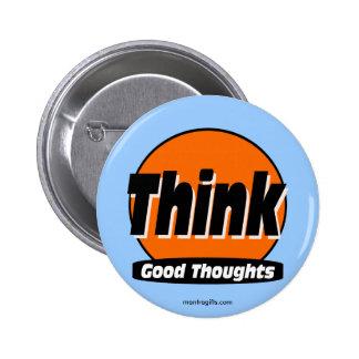 Piense el buen botón de los pensamientos