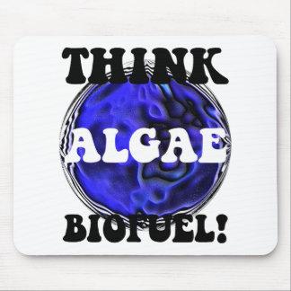 Piense el combustible biológico de las algas mousepads