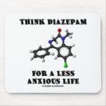 Piense el diazepam por una vida menos ansiosa (la  alfombrillas de ratones