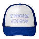 Piense el gorra de la nieve