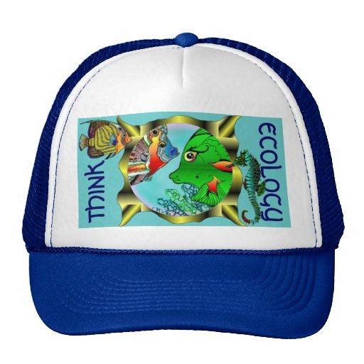 Piense el gorra del abucheo de Peeka de la ecologí