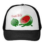 Piense el gorra grande de la sandía