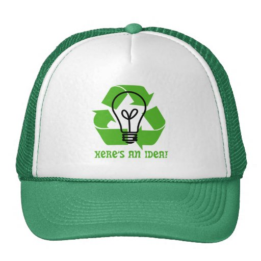 Piense el gorra verde del camionero