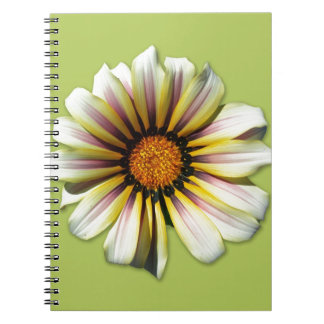 Piense el helecho de la flor de la primavera libreta
